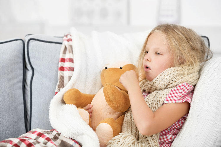 Symptoms of pneumonia in children