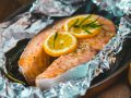 Do not cook in aluminum foil - and this is why